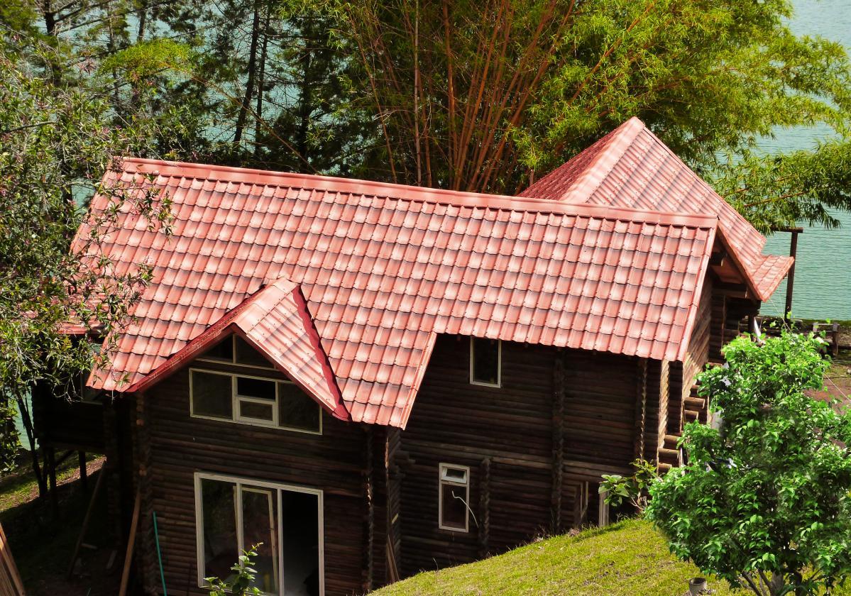 Casa residencial con ONDUVILLA® fiorentino