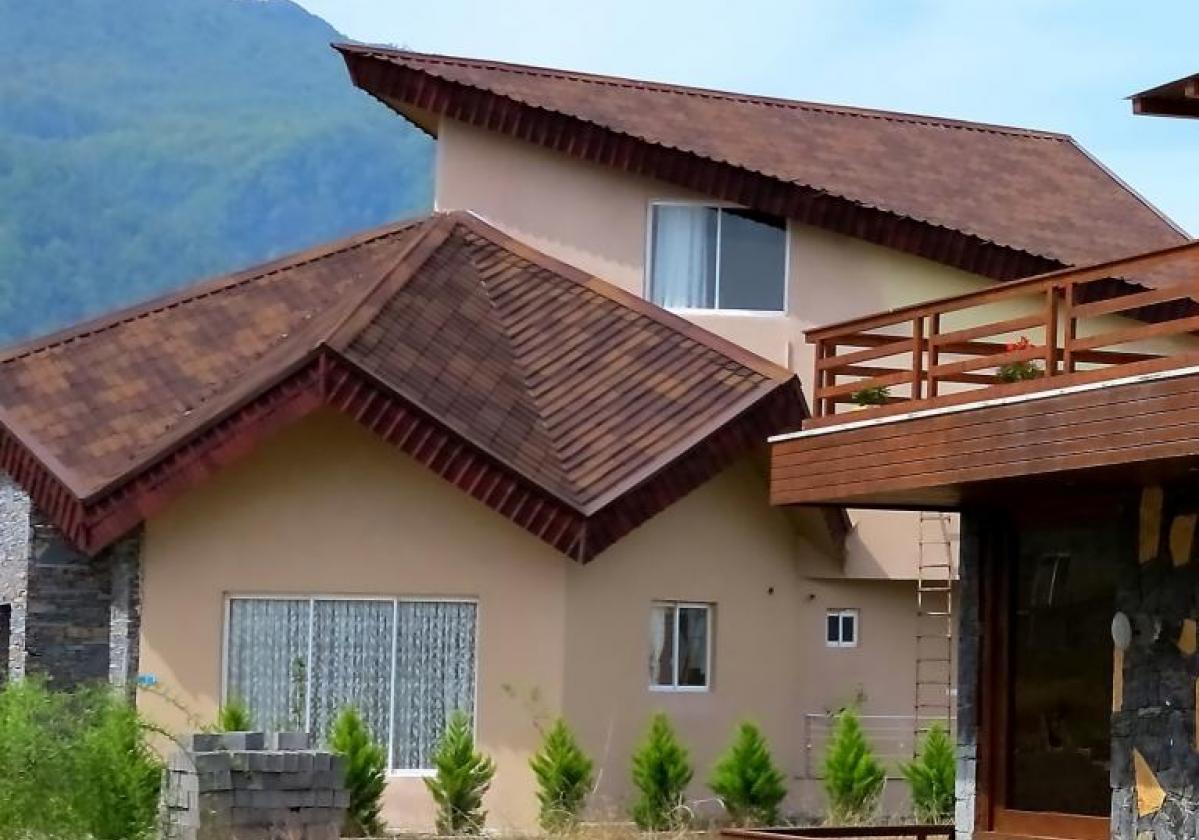 Casa residencial con ONDUVILLA® Café Antique