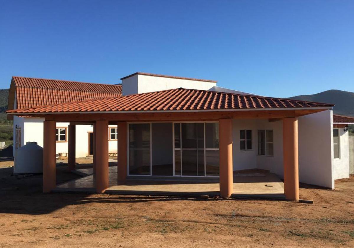 Casa residencial con ONDUVILLA® terracota