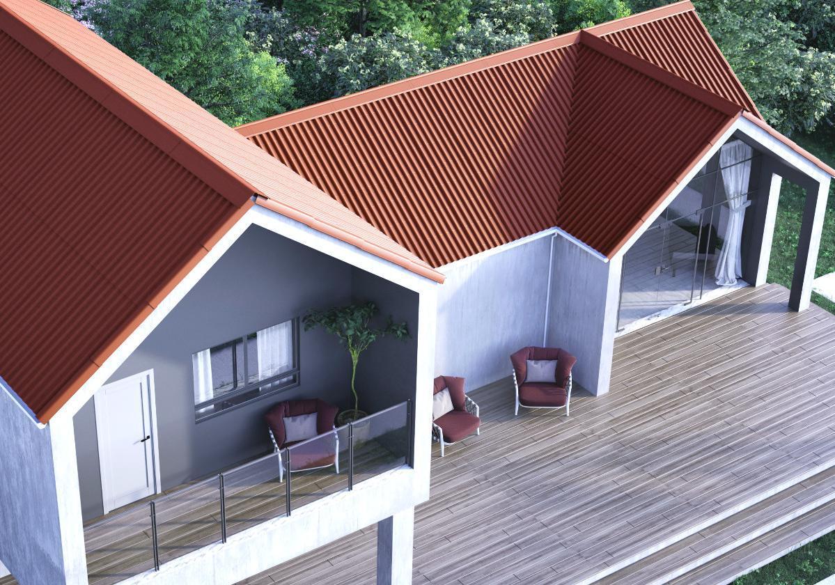 Casa residencial con Cubierta STILO®