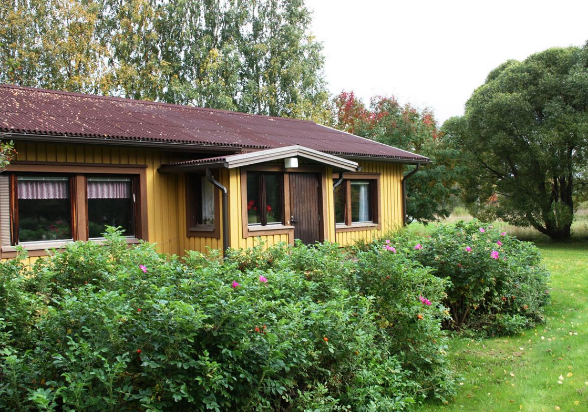 Casa campestre con cubierta SMART®